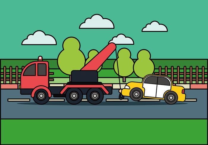 Vettore di assistenza stradale