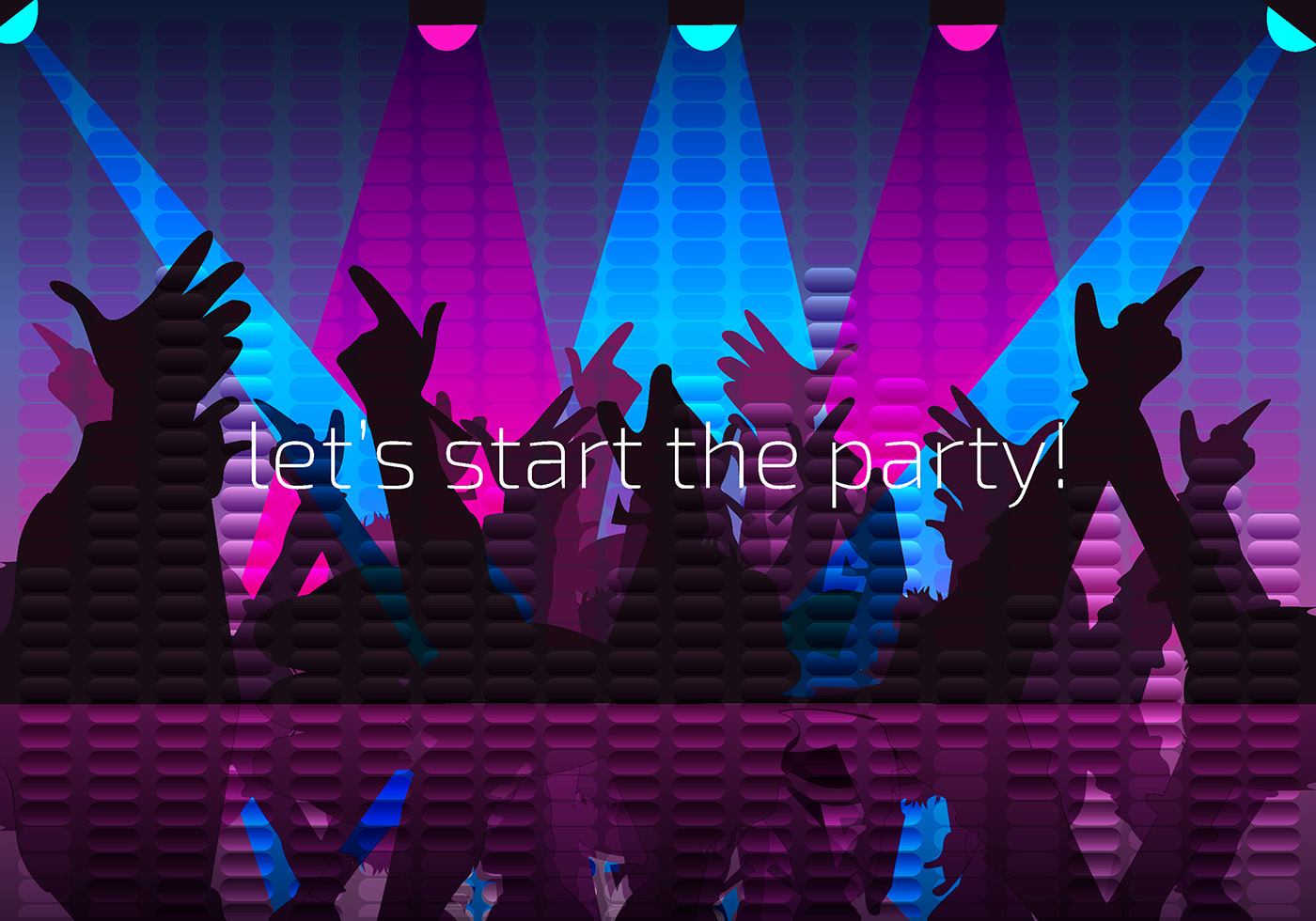 Party Night Background Free Vector - Download Free Vector ...