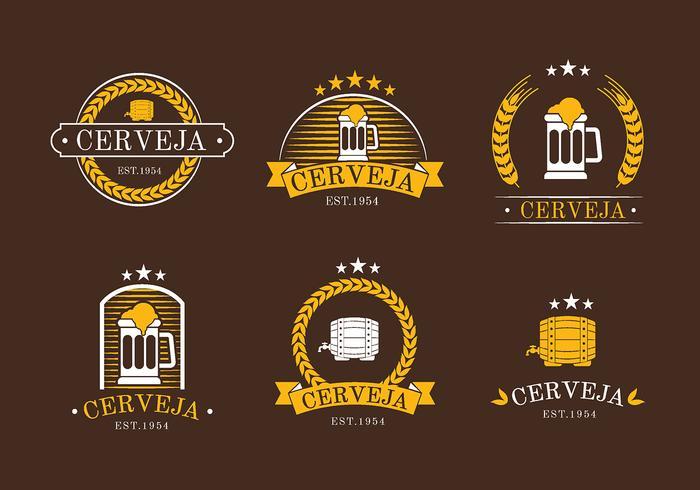 Cerveja Logo Vector Libre