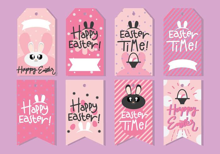 Cute Easter Gift Tag