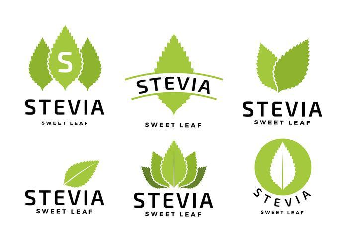 Stevia Logo Freier Vektor