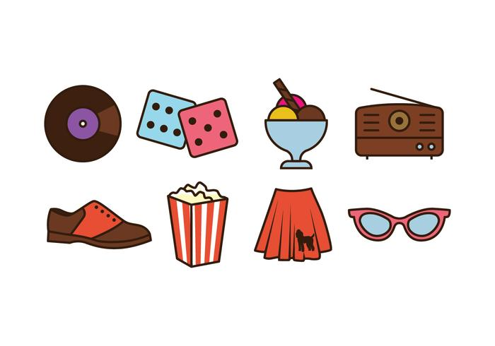 50s Things Icon Pack