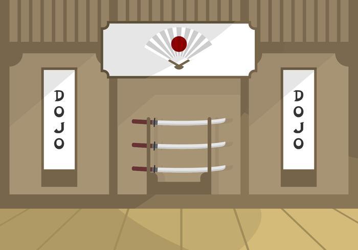 Illustrazione del Dojo