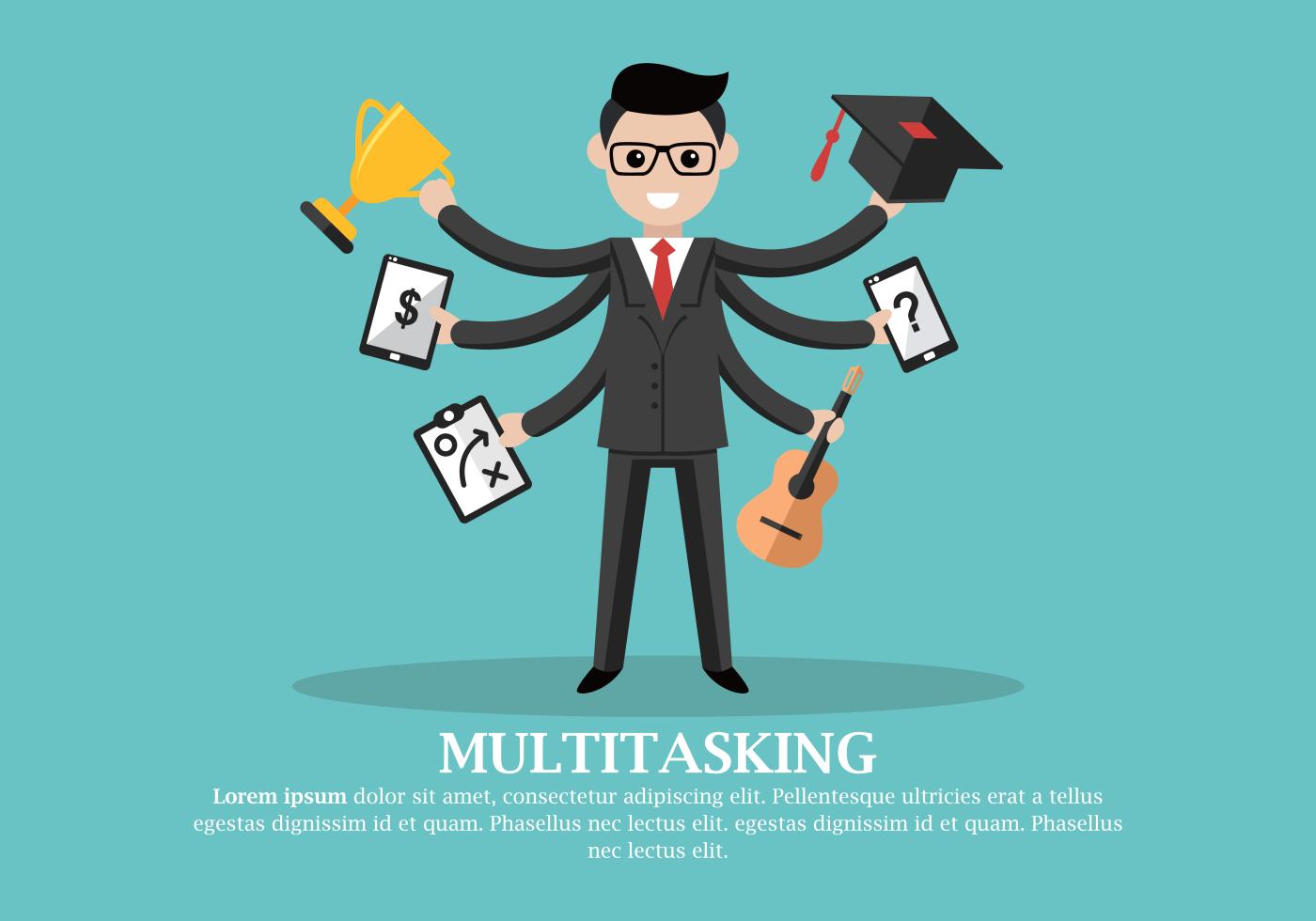multitasking svenska