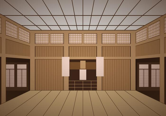 Indoor Dojo Temple