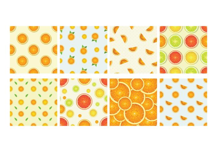 Clementine Background Vector