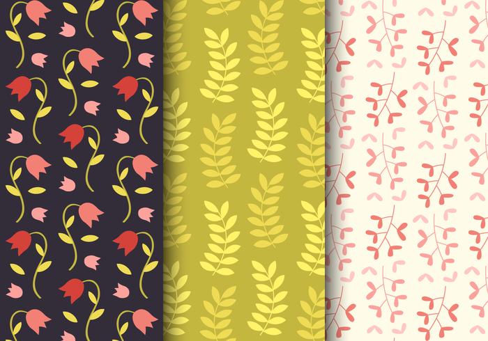 Free pattern floreale della sorgente
