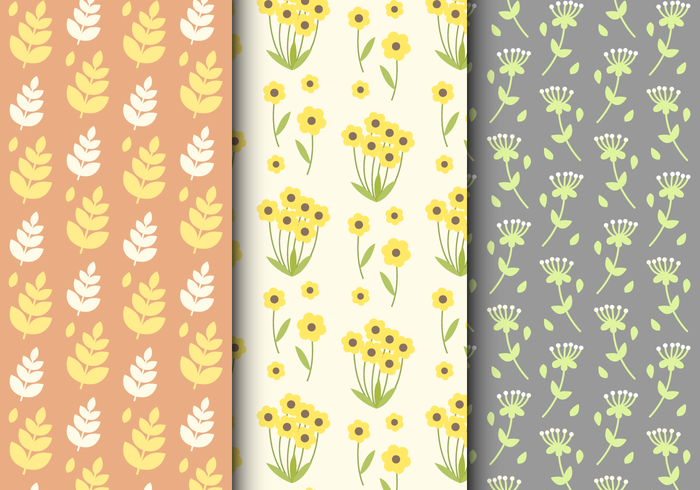 Free Summer Floral Pattern
