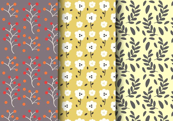 motif floral vintage gratuit t l chargez de l 39 art des graphiques et des images vectoriels. Black Bedroom Furniture Sets. Home Design Ideas