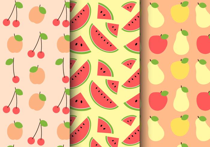 Free Summer Fruit Pattern