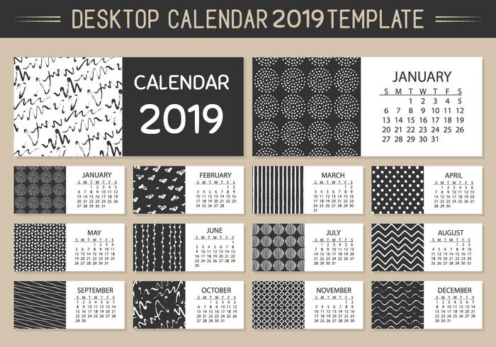Stand Up Desk Calendar Template Hostgarcia