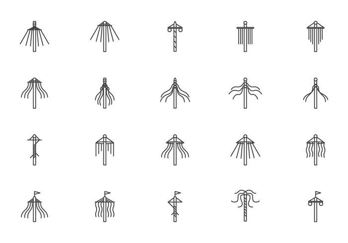 Free Maypole Vectors