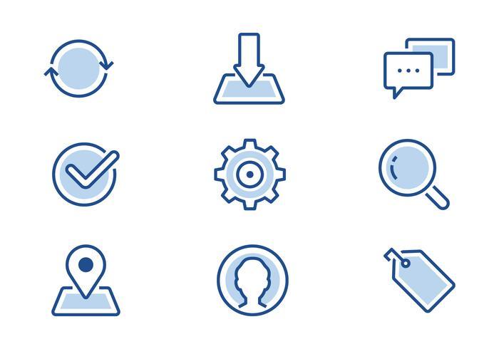 Icono de la línea de interfaz