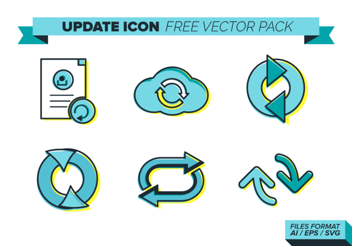 Update Icon Free Vector Pack