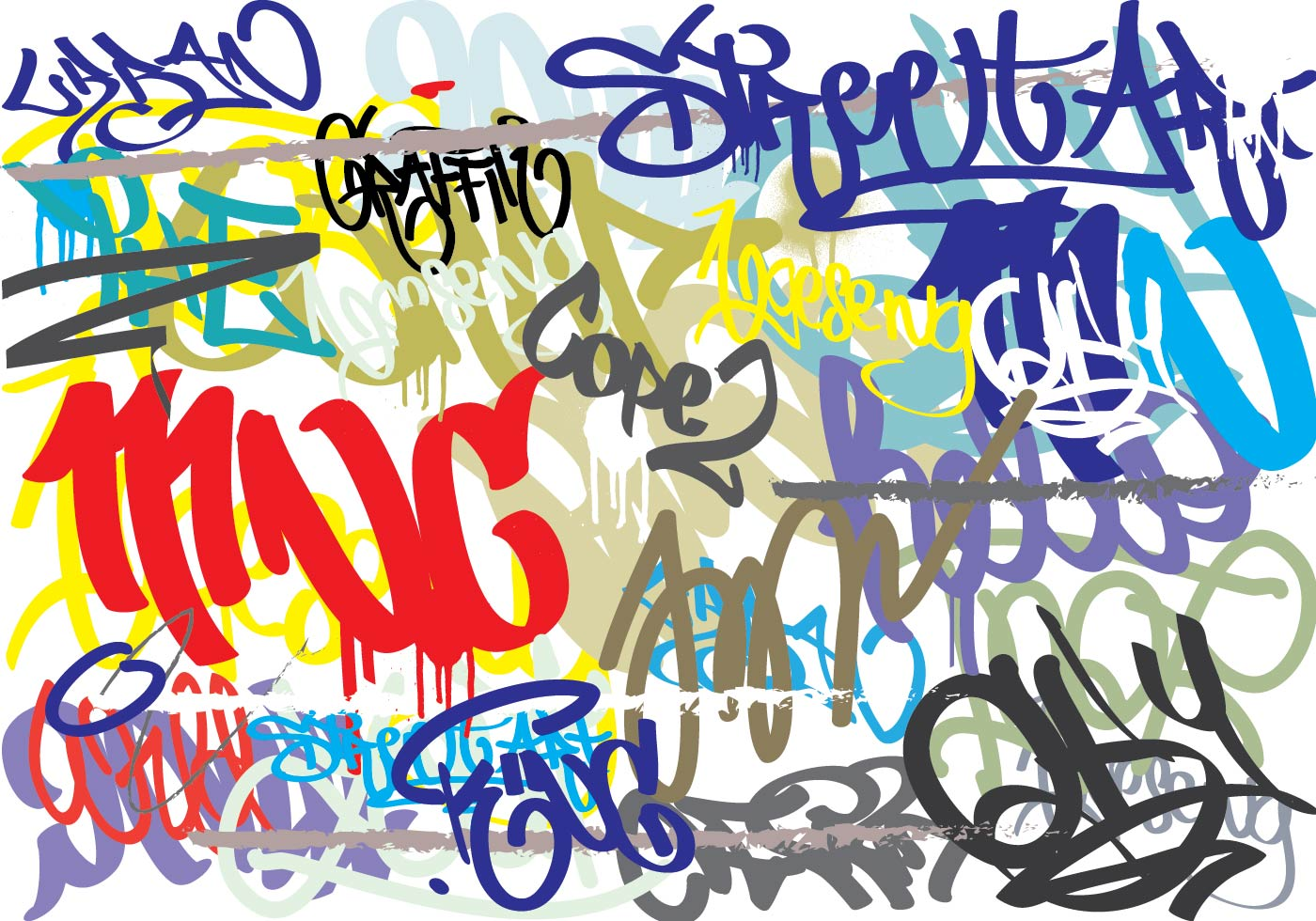 Graffiti Abstract Background Download Free Vector Art Stock Graphics Images