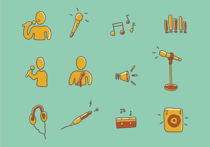 Icône de musique