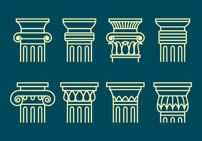 Corinthian Icons Set
