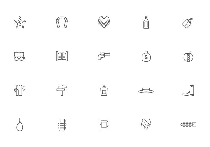 Free Gaucho Icon Vectors