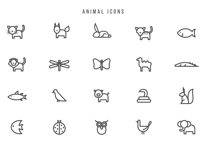 Free Animal Vectors