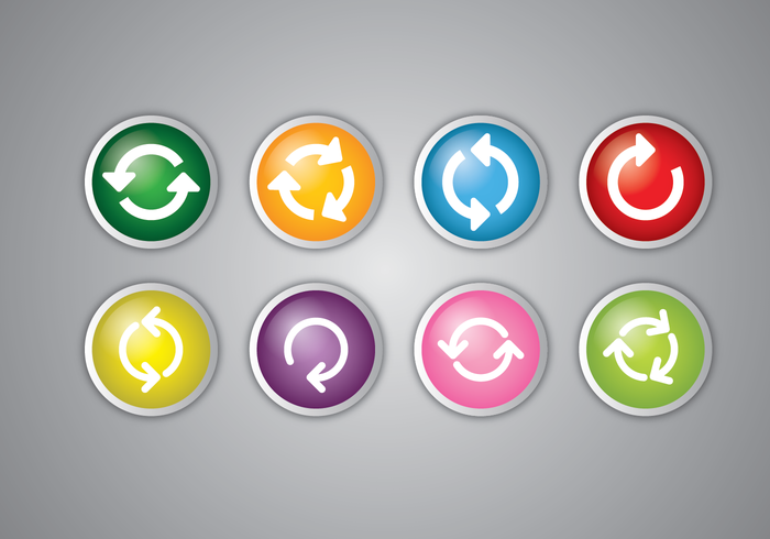 Uppdatera ikonvektoruppsättning