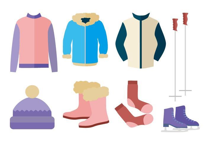 Free Autumn Winter Outerwear Vector