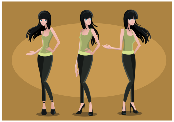Free Woman Vector