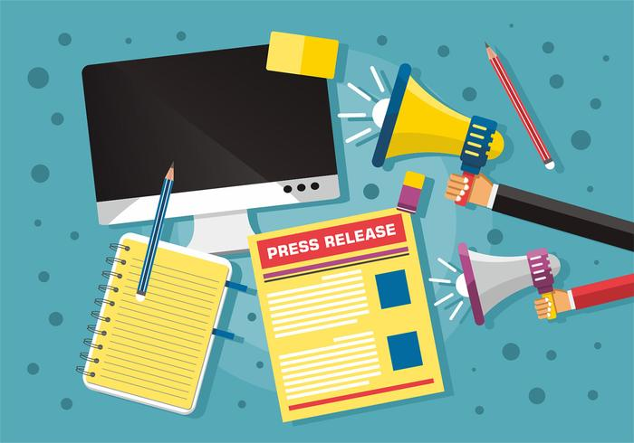 Press Release Vector Art