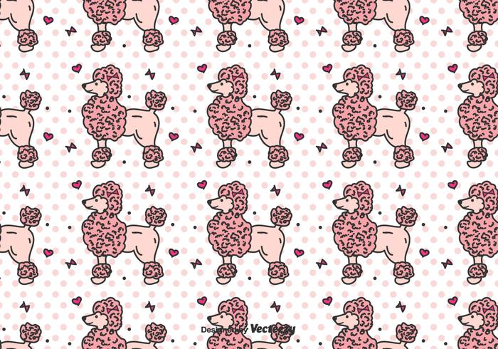 Poodle Vector Pattern