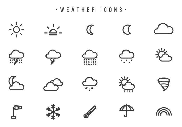 Weather Vectors