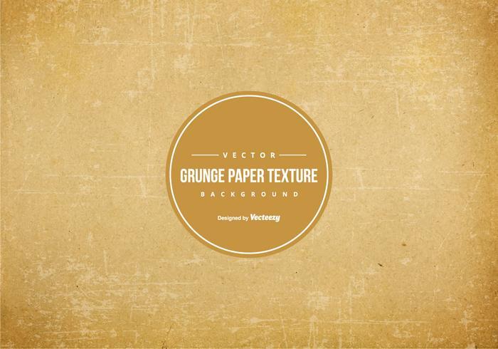 Fond grunge de texture de papier vecteur