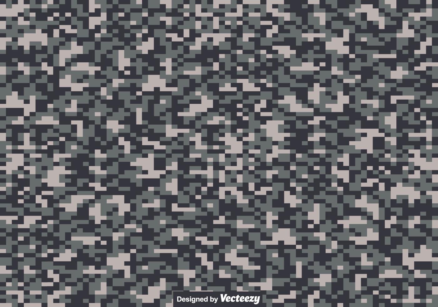 Digital Camouflage Texture - Vector - Download Free Vector
