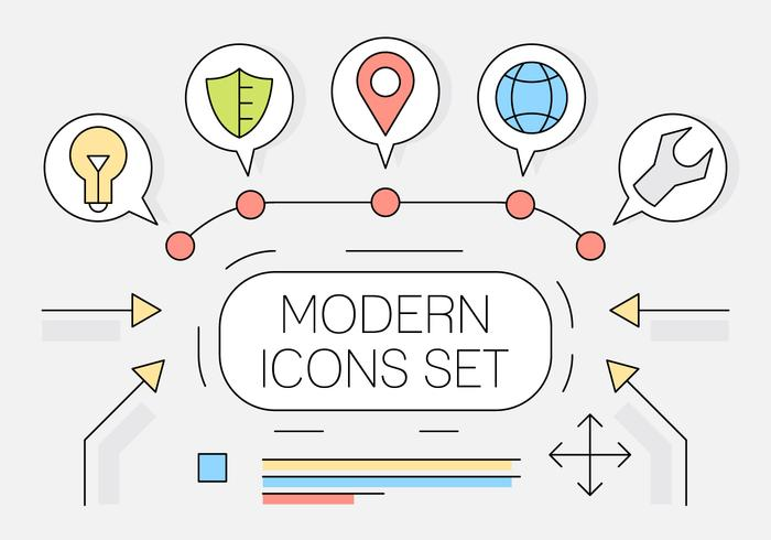 Free Linear Style Web Icons
