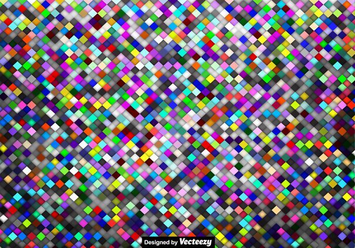 Fundo de azulejos coloridos do vetor