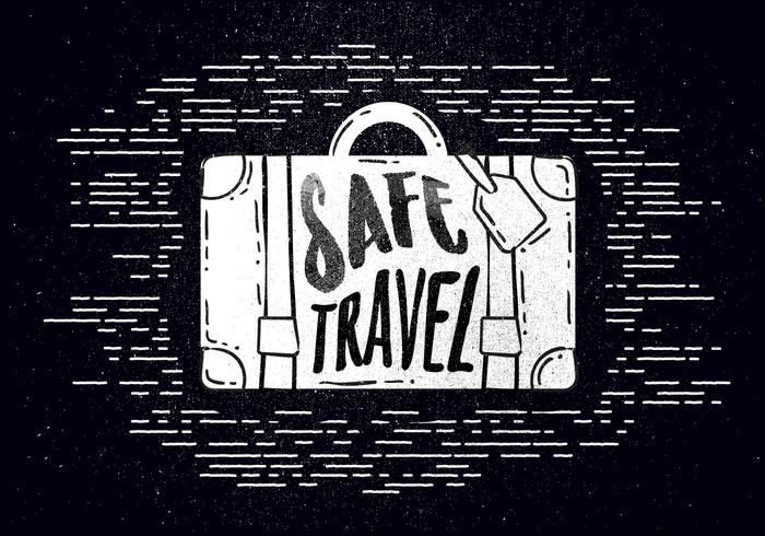 Free Hand Drawn Travel Background