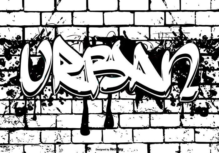 Urban Lettering in Grafitti Style