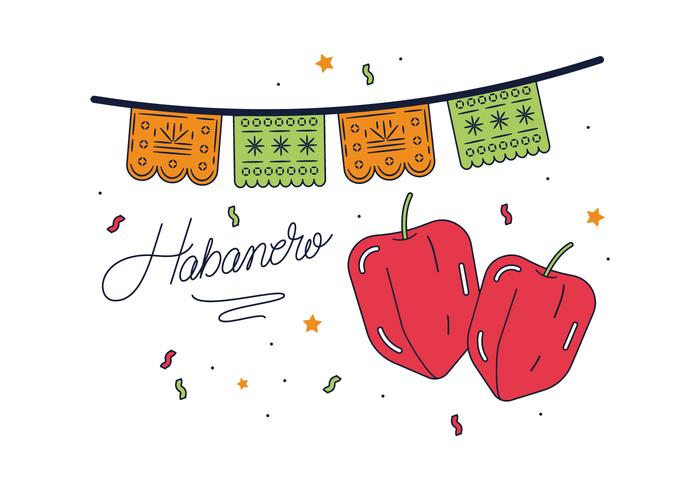Free Habanero Vector