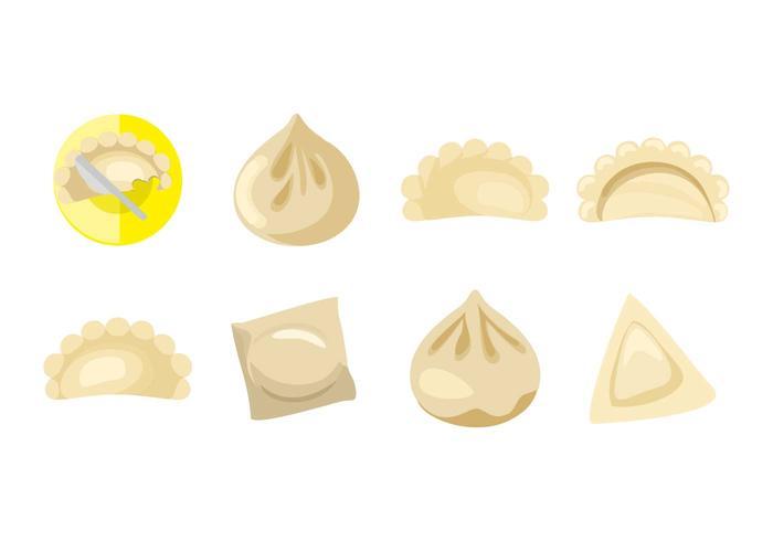 Free Chinese Dumplings Vector