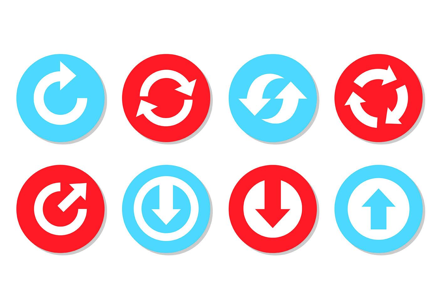 箭頭 icon 免費下載 | 天天瘋後製