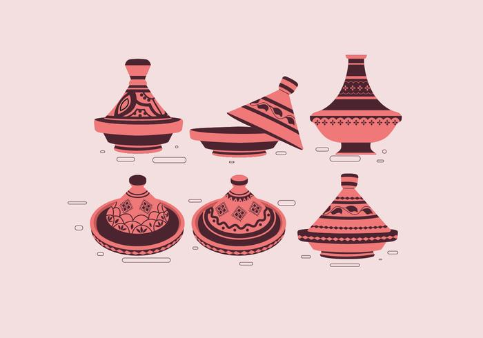 Tajine Simple Vector