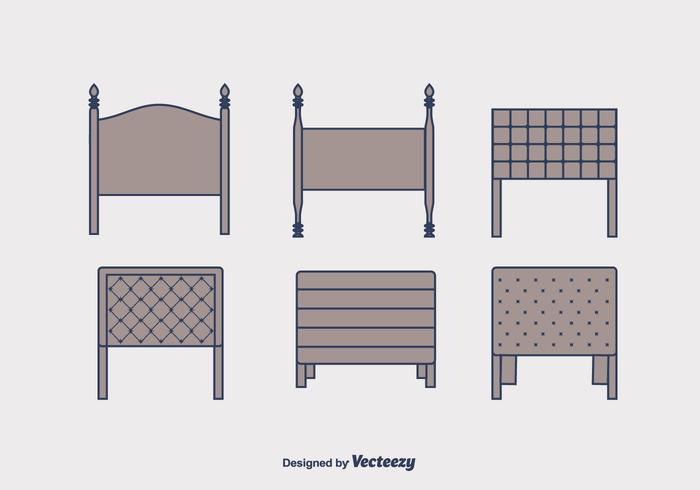 Headboard Vector Set