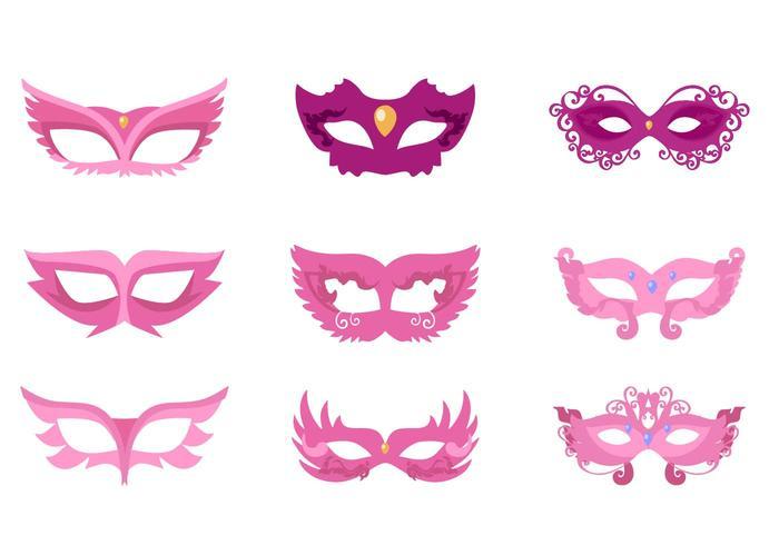 Vector de masque de Masquarade gratuit