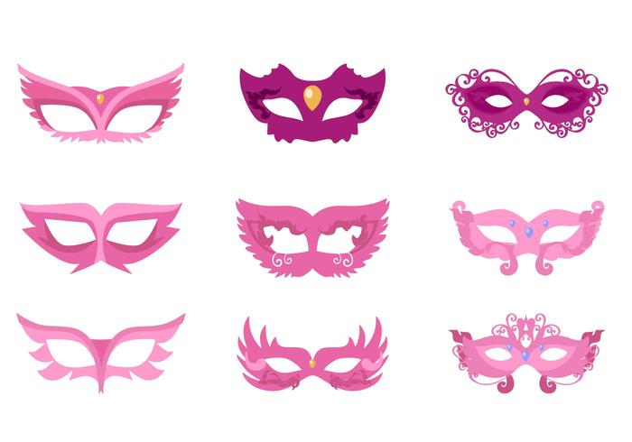 Free Masquarade Mask Vector