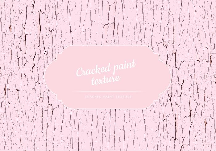 Vector Cracked Paint Texture