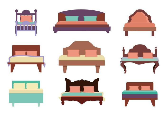 Free Furniture Bed Vector