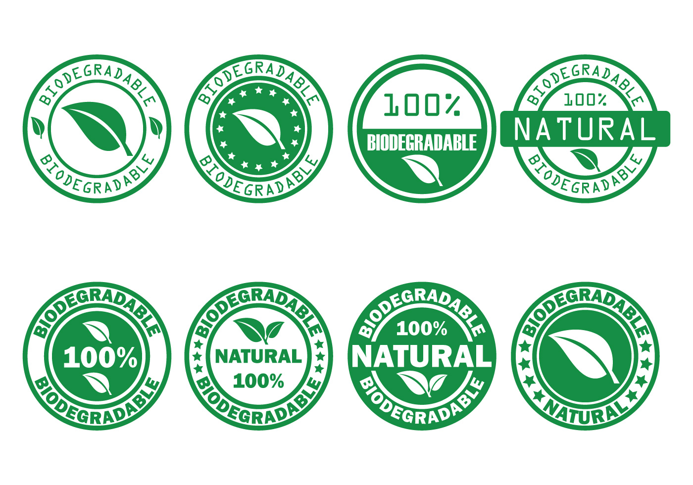 Biodegradable vector stamp download free vector art for Immagini vector