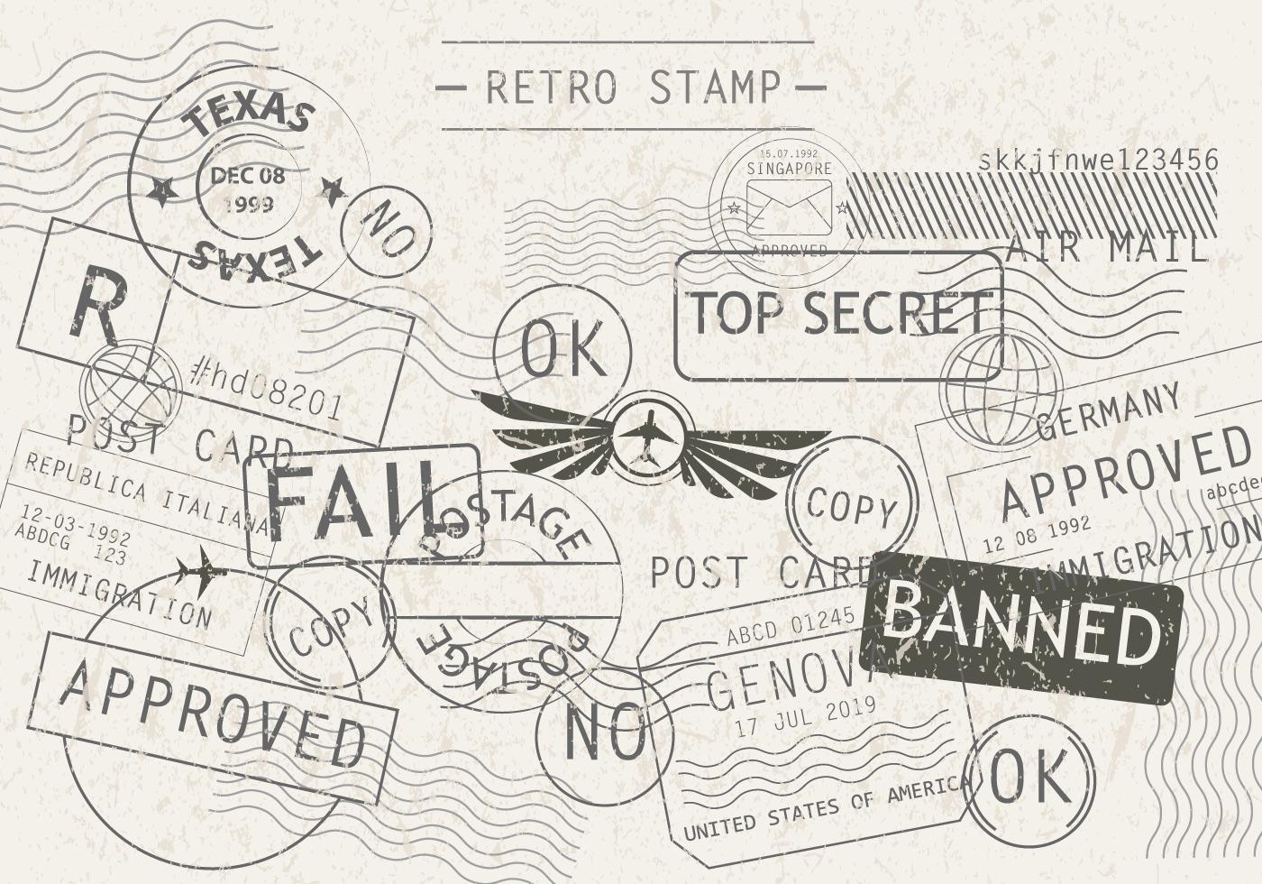 bd33f0442d88d Stamp Free Vector Art - (21576 Free Downloads)