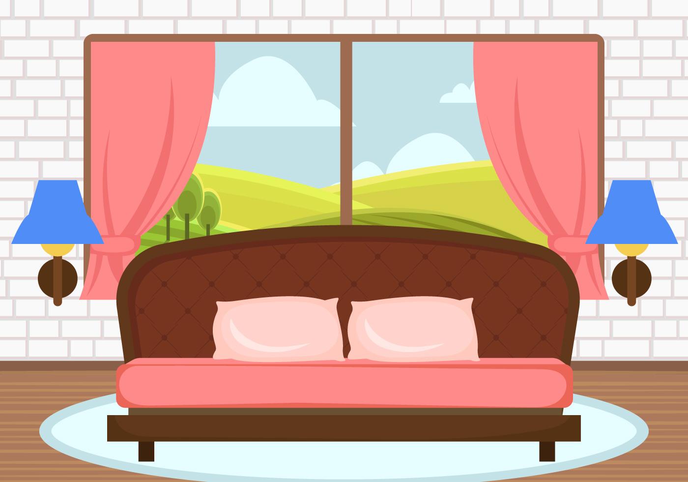 Bedroom Decoration Free Vector Art 49 379 Free Downloads