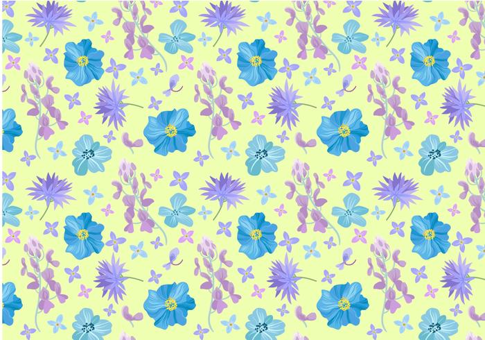Free Flower Pattern Vectors
