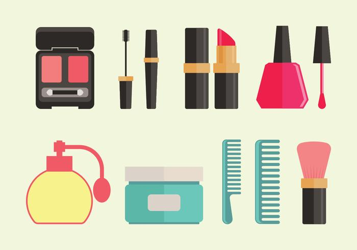 Beauty Clinic Vector Icons