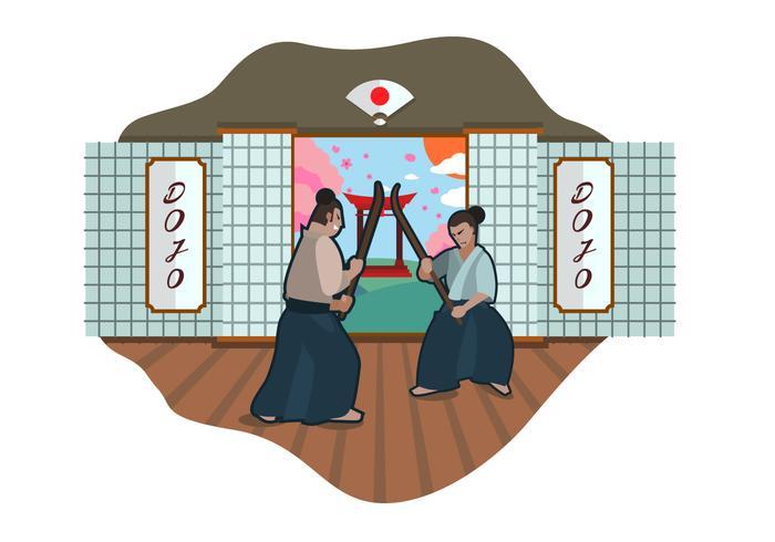 Free Dojo Vector Illustration